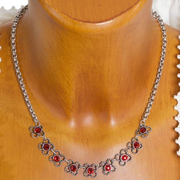 HK155 Granatkette darl in siam rot
