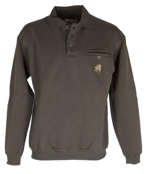 Hubertus Herren Sweatshirt 10223990 oliv 1007