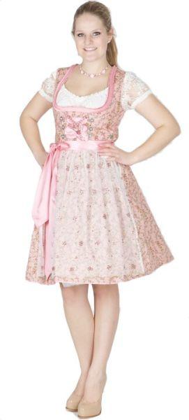 11959 MarJo Dirndl Anastasie 58er rosa/rosa