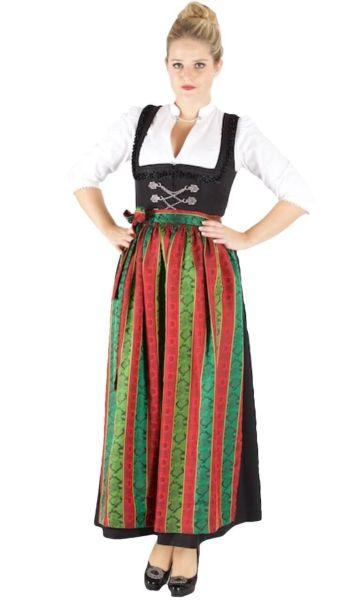 13218 Wenger Hochalm Dirndl Hildegard 95er Gr 38 schwarz