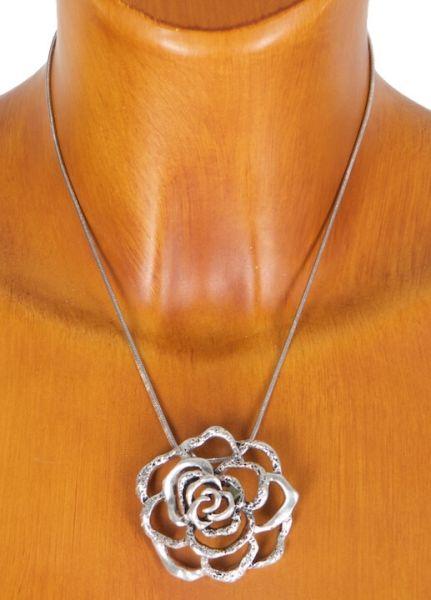 Sweet 7 Halskette BC 6 mit Rose dunkel