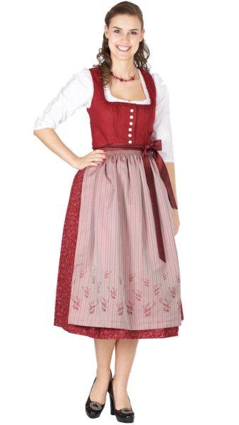 15387 Wenger Dirndl Jutta 80er beere