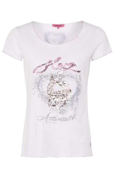 Hangowear Damen T-Shirt Lotti weiss