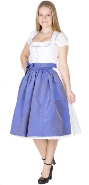 11912 Julia Trentini Dirndl Anna 70er weiß blau