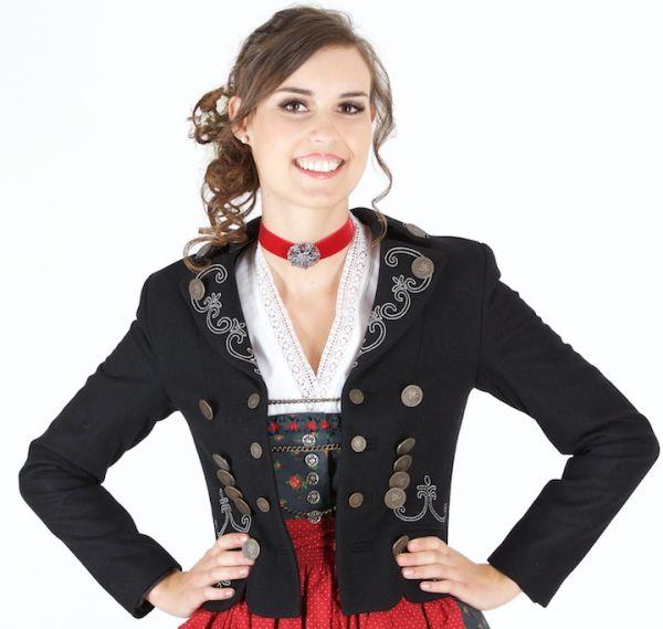Julia Trentini Damenjacke Servus Tölz schwarz