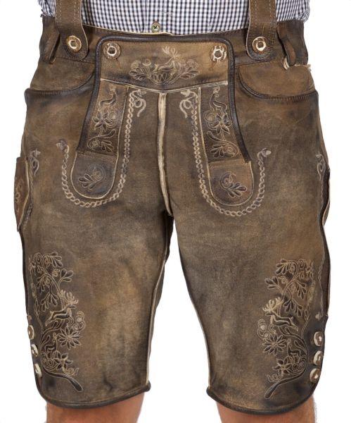 Muller Antik Ziller kurze Lederhose