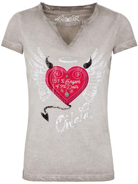 Hangowear Damen T-Shirt Rike grau