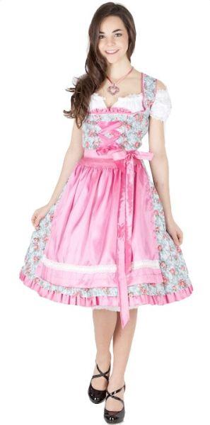 11805 MarJo Dirndl Agnes 55er grau pink