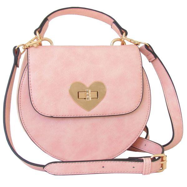 Lady Edelweiss Trachtentasche 18200 Herzform rosa