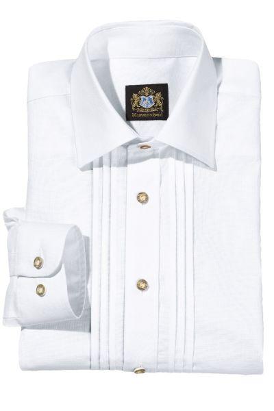14000 Hammerschmid Herren Trachtenhemd in weiss