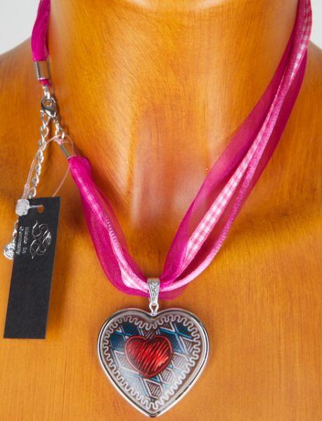 9312/3 schönes braunes Herz mit Herzmotiv vers.Farben