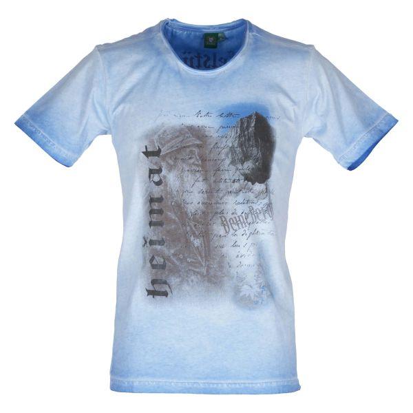 Orbis Herren T-Shirt 428002 3737 blau Fb 43