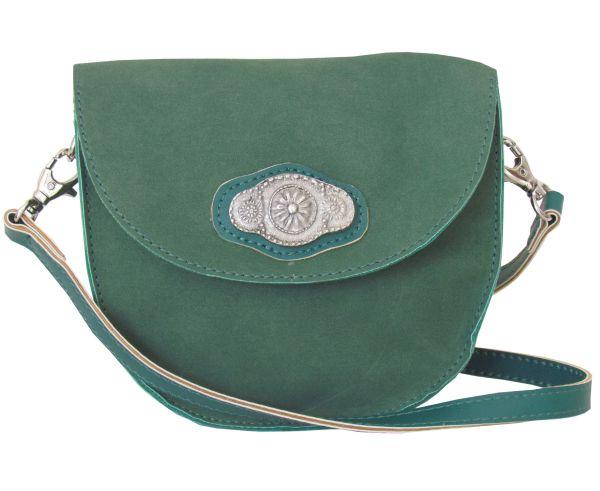 Lady Edelweiss Trachtentasche 30961 Grün Spange