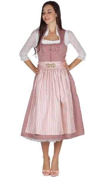 Tramontana Dirndl 16632 70er altrosa rosa