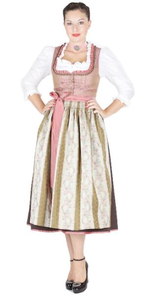 12553 Hofer Dirndl Mühlreith 80er rose
