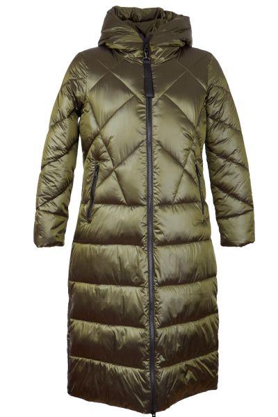 Green Goose Puffer-Steppmantel lang 21449492 Basil Fb 507