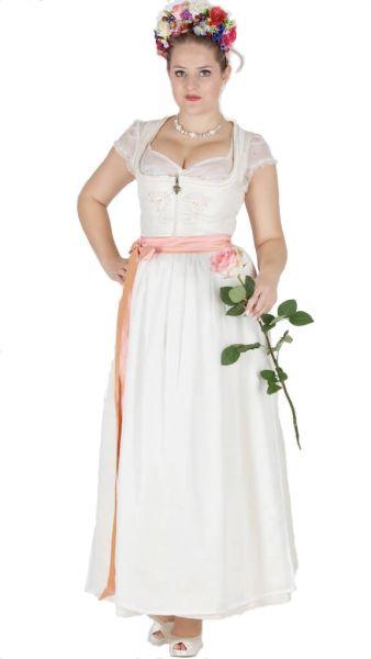 Sportalm Braut Dirndl Schönegg 100er länge ecru
