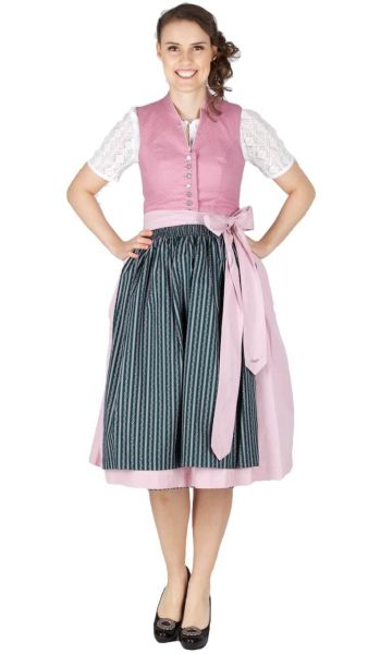 16010 Country Line 70er Dirndl rose moos