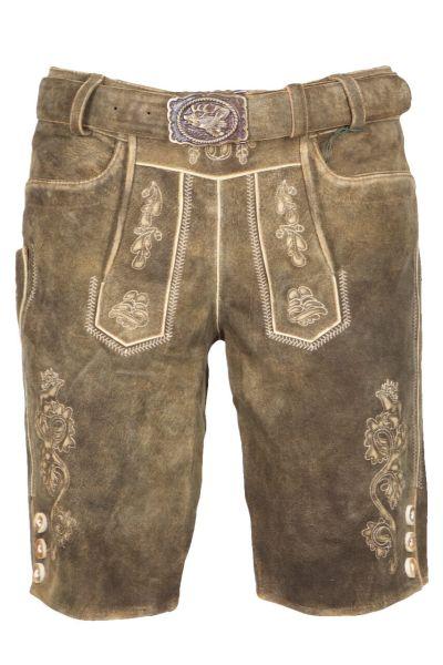 Kaiseralm Lederhose Mautern 1669Z antik braun FB 83