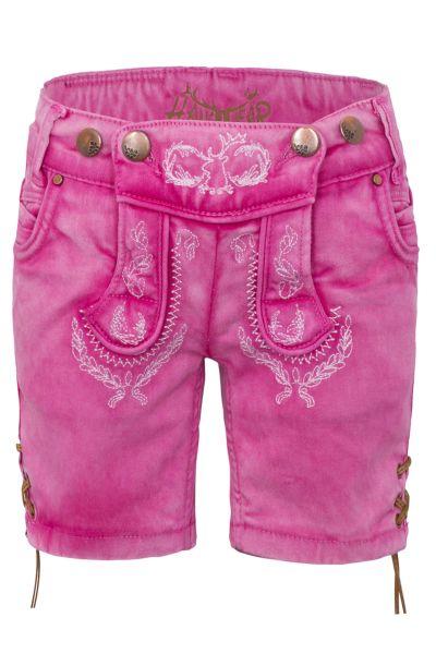 Hangowear Trachten Short Kid`s Pink 1729