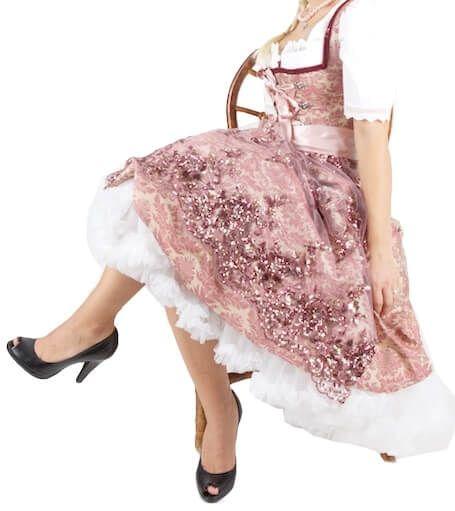 5652 Schnittundschäfer Dirndl 70er Petite Ohlala rose