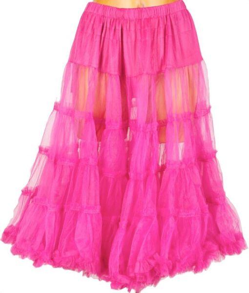 4200 Dirndl Petticoat 65-70cm pink einheitsgrösse