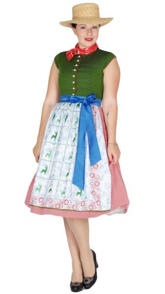 Sportalm Dirndl Pramet 70er apple green