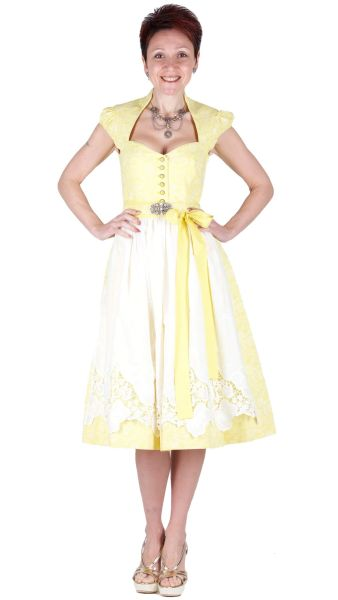 Sportalm Dirndl Ruth 70er light gold