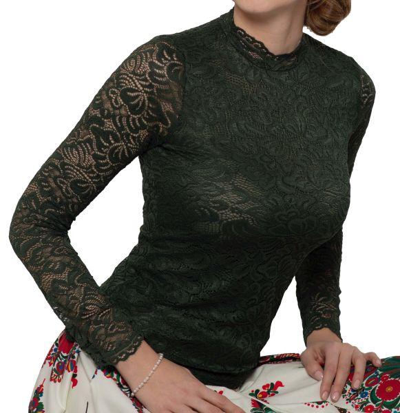 My Choice Damen Shirt Hanna 0717 4351 Tanne Fb 770 langarm
