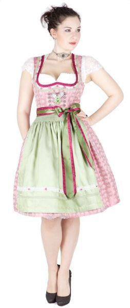 10327 Tramontana 60er Dirndl pink oliv