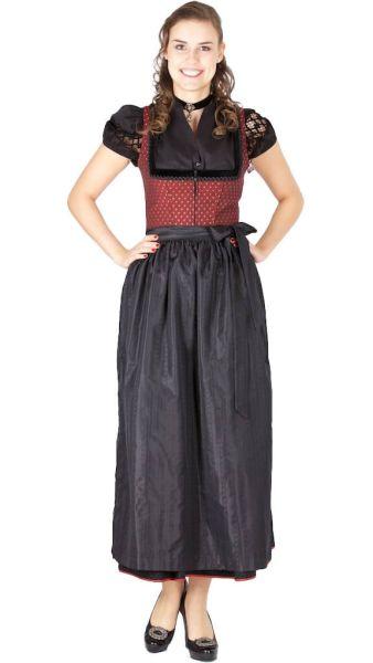 15363 Wenger Dirndl Rita 95er rot schwarz