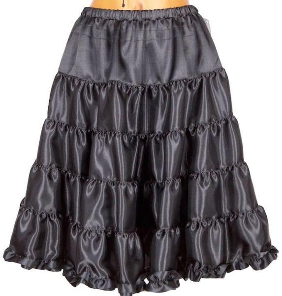 T-3051 Tramontana Petticoat 60cm schwarz
