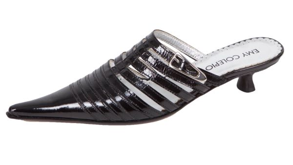 e104 Designer Slipper Colepio Italy schwarz
