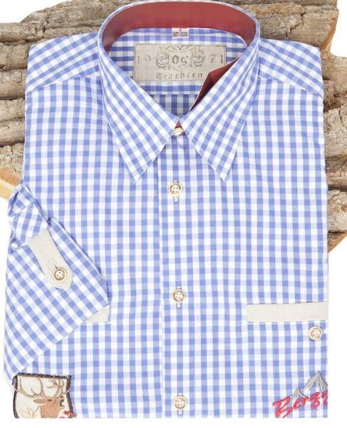 220009-2652/48 Orbis Hemd jeansblau Berggeist