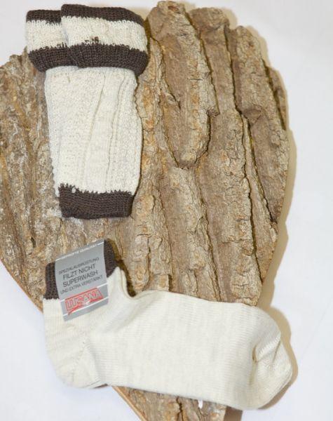 L479-1411 Socken + Loferl Set beige braun