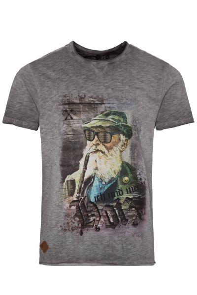 Hangowear Herren T-Shirt Fritz grau