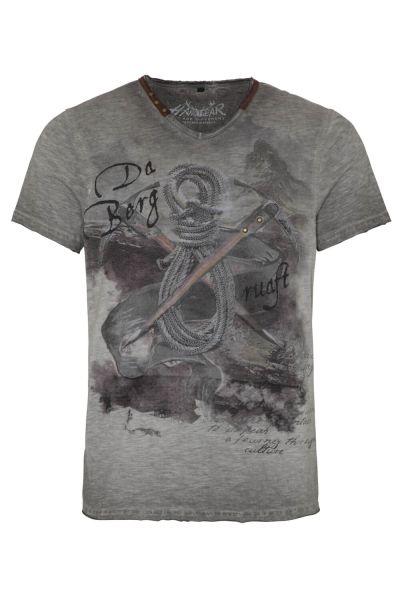 Hangowear Herren T-Shirt Emilio 1202 71272 Grau 0201