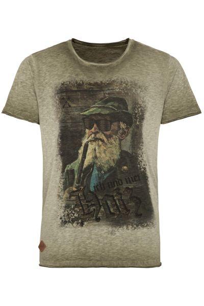Hangowear Herren T-Shirt Fritz 1182 70682 oliv 0164