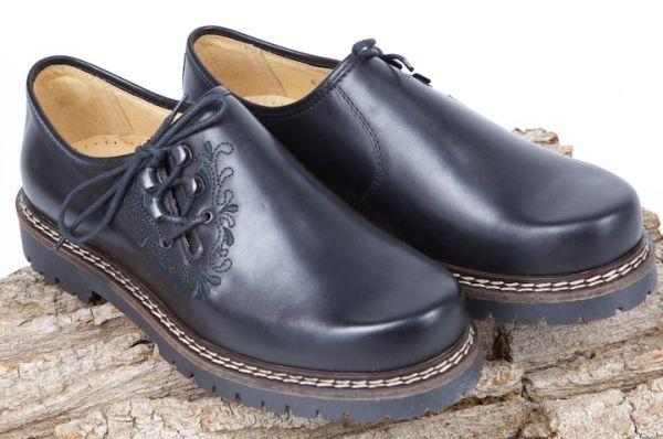 630431 dirndl bua Schuhe Softy schwarz