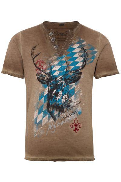 Hangowear T-Shirt Ferdi Kid`s 1182 70686 Braun 0190
