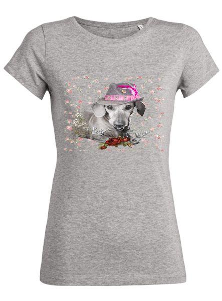 Lady Edelweiss Damen T-Shirt 20431 Wastl Gr M Grau