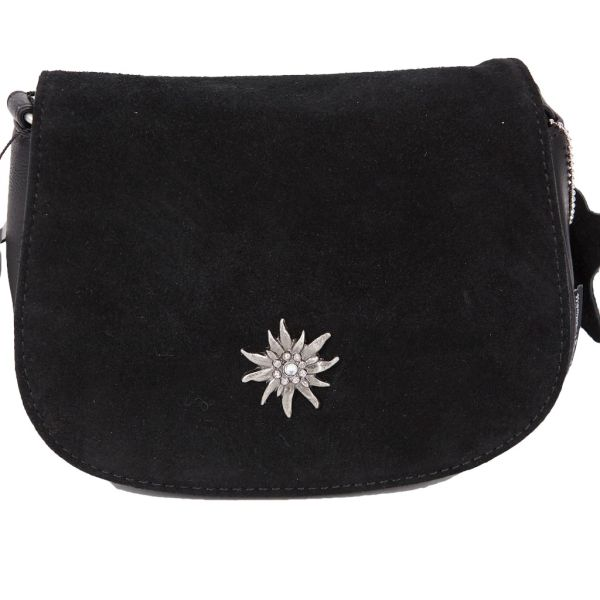 14799 Lady Edelweiss Umhängetasche Edelweiss schwarz