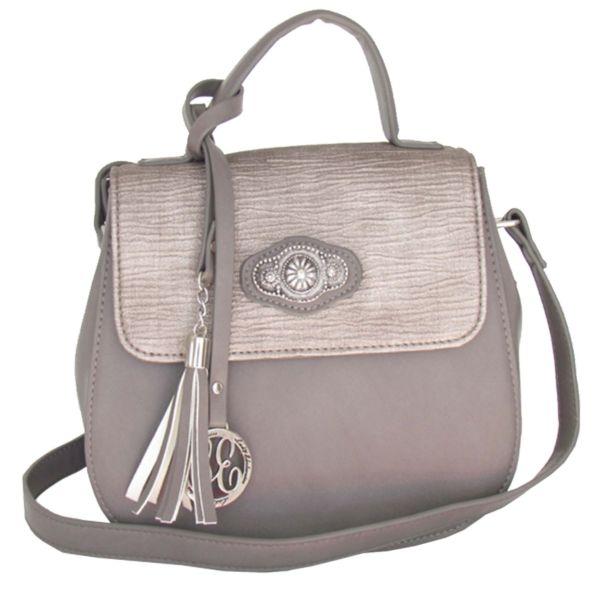 Lady Edelweiss Umhänge Trachtentasche 18100 grau