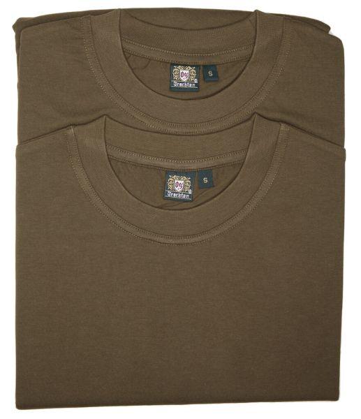 Orbis T-Shirt 728000-3382/55 oliv Doppelpack
