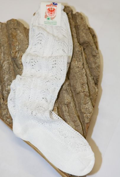 6583/22 Damen Kniestrümpfe weiß 40-42