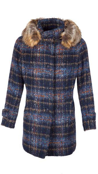 Steinbock Damenmantel Elmira 22280WP 60514 dunkelblau