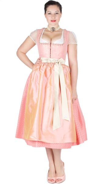 Sportalm Dirndl Going 80er orange