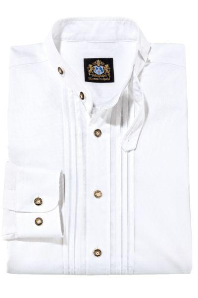 Hammerschmid Herren Trachtenhemd 1911002 weiss