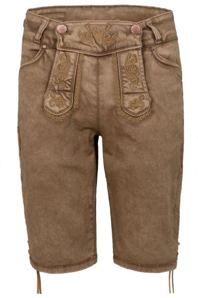 Hangowear Color Jeans Short Herren Schlamm
