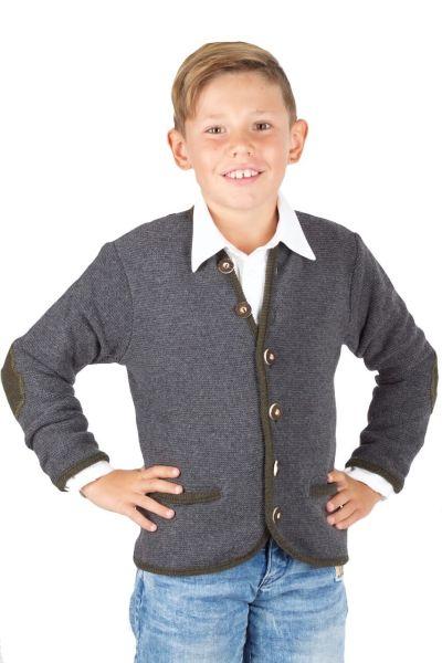 TeePee Kinderstrickjacke 3101 grau